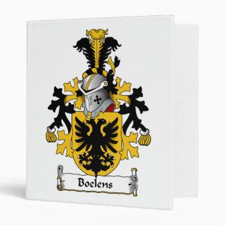 Boelens Family Crest Vinyl Binder
