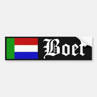 Boer Bumper Sticker