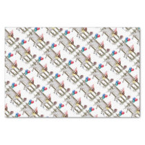 Boer Goat Patterned Birthday Party Tissue Paper