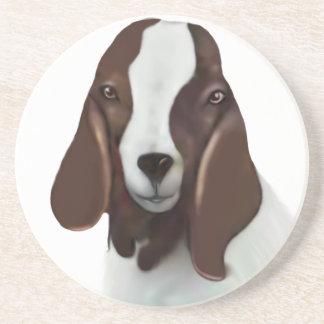 Boer Goat Sandstone Coaster