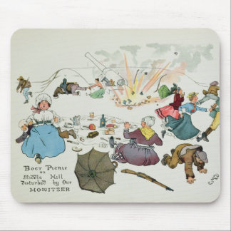 Boer picnic on Middle Hill disturbed Mouse Pad