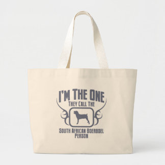 Boerboel Large Tote Bag