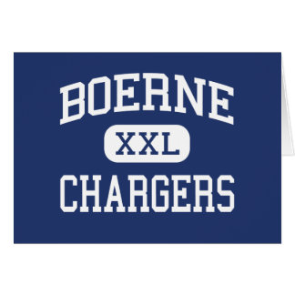 Boerne - Chargers - High School - Boerne Texas Cards