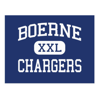 Boerne - Chargers - High School - Boerne Texas Postcard