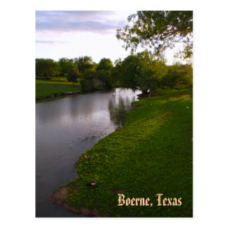 Boerne, Texas Postcard