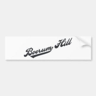 Boerum Hill Car Bumper Sticker