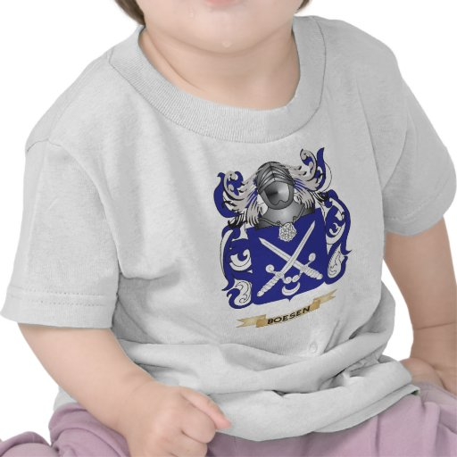 Boesen Coat of Arms (Family Crest) Shirts