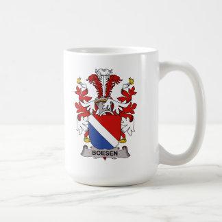 Boesen Family Crest Coffee Mug