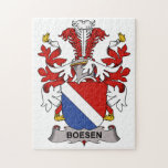 Boesen Family Crest Puzzles