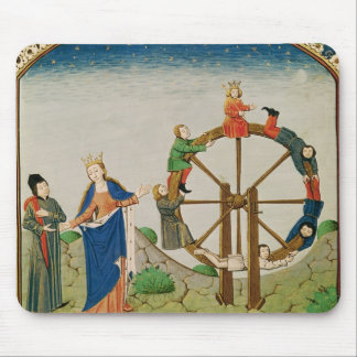 Boethius with the Wheel of Fortune Mouse Pad