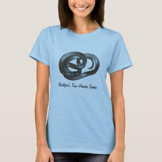 Boettger's Two-Headed Snake Ladies Baby Doll T-Shirt