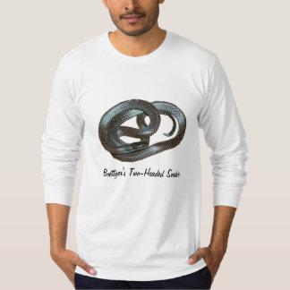 Boettger's Two-Headed Snake Long Sleeve (Fitted) T-Shirt