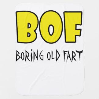 BOF - Boring Old Fart Swaddle Blankets
