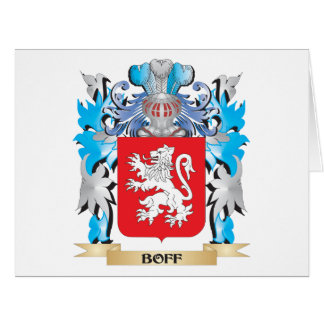 Boff Coat of Arms Greeting Card
