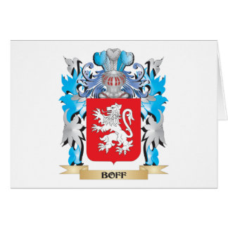 Boff Coat of Arms Greeting Cards