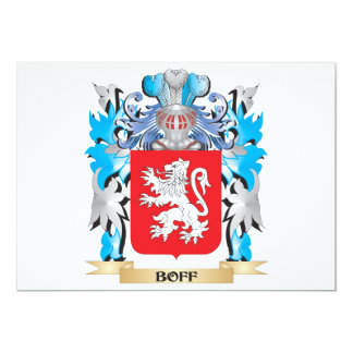 Boff Coat of Arms Announcement