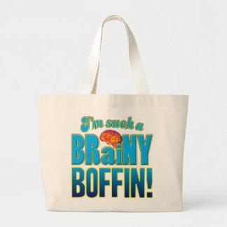 Boffin Brainy Brain Canvas Bag