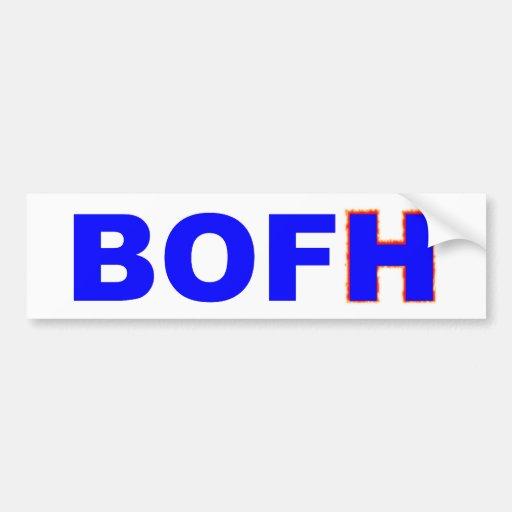 BOFH  Bastard Operator From Hell Auto Sticker