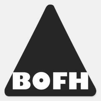 BOFH hybrid operator From bright Triangle Sticker