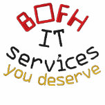 BOFH/IT EMBROIDERED POLO SHIRT