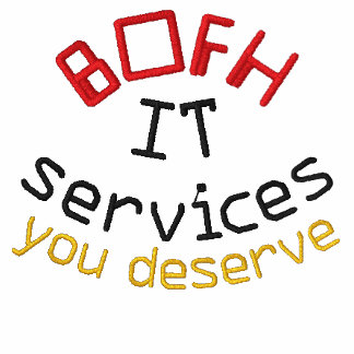 BOFH/IT EMBROIDERED POLO SHIRTS