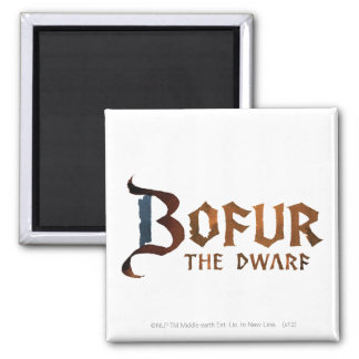 Bofur Name 2 Inch Square Magnet