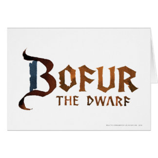 Bofur Name Card
