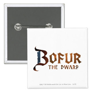 Bofur Name Pinback Button