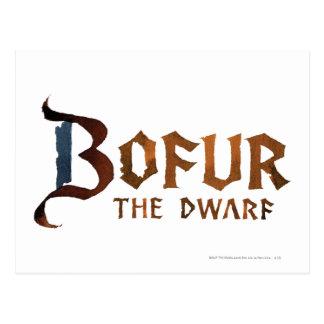 Bofur Name Postcards