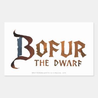 Bofur Name Rectangular Stickers