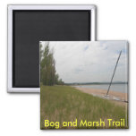 Bog and Marsh Trail Fridge Magnets