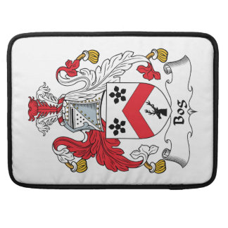 Bog Family Crest Sleeve For MacBooks