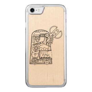"BoG ""Golem with Sekira"" Wood iPhone 6 Carved iPhone 8/7 Case"