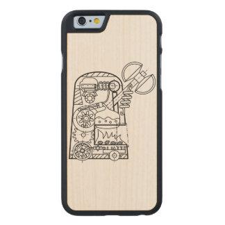 """BoG """"Golem with Sekira"""" Wood iPhone 6 case"""