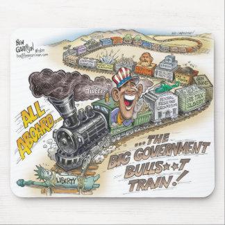 Bog Gov BullSh*t Train Mousepad