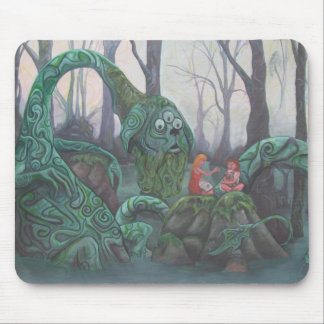 Bog_Guardian- (Painting by ChrisHowell) Mouse Mats