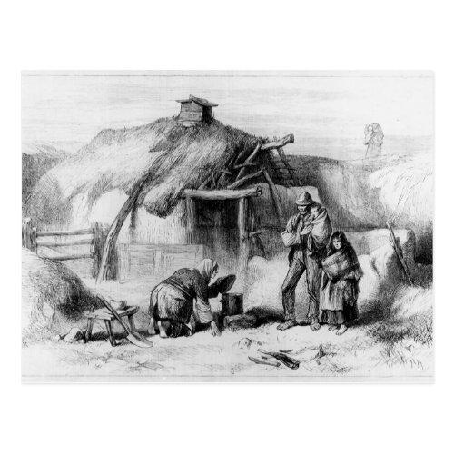 Bog_Trotters Cabin Postcard
