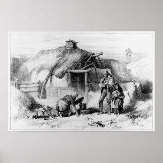 Bog-Trotters Cabin Poster
