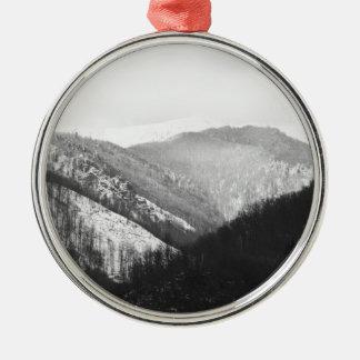 Boga - Romanian Landscape Metal Ornament