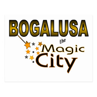 Bogalusa Magic City Post Card