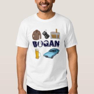 Bogan in Geek T-shirt