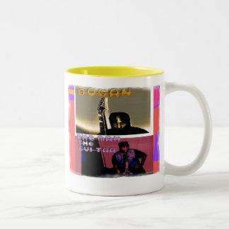 Bogan The Man The Guitar Two-Tone Coffee Mug