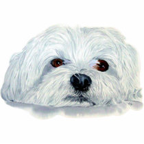 Bogart the Maltese Sculpture