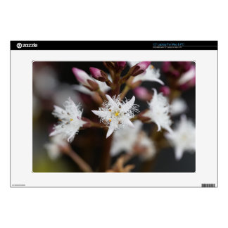 "Bogbean (Menyanthes trifoliata) Decal For 15"" Laptop"