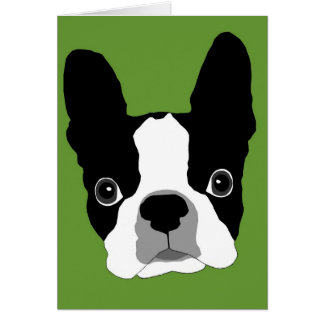 Bogey GREEN note card - Customized