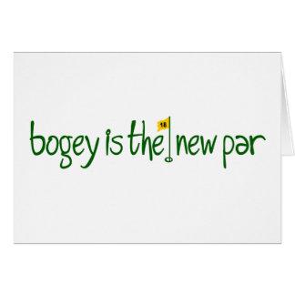 Bogey Is The New Par Card