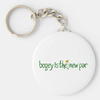 Bogey Is The New Par Keychain
