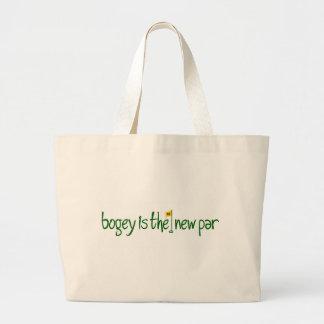 Bogey Is The New Par Large Tote Bag
