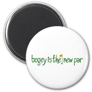 Bogey Is The New Par 2 Inch Round Magnet