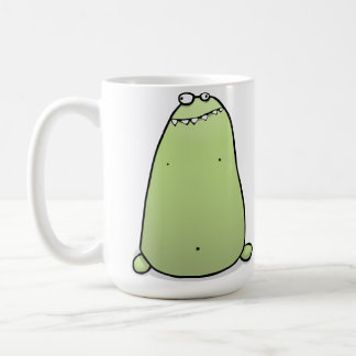 Bogey Monster Coffee Cup - I LIve Up your Nose Coffee Mug